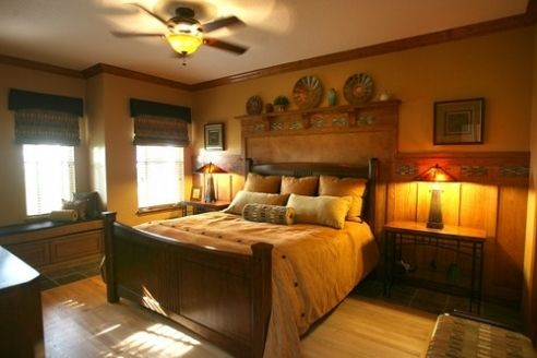 44 best ideas about arts crafts bedrooms on pinterest for Arts and crafts bedroom