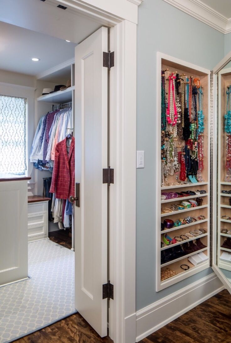Built-In Jewelry Cabinet