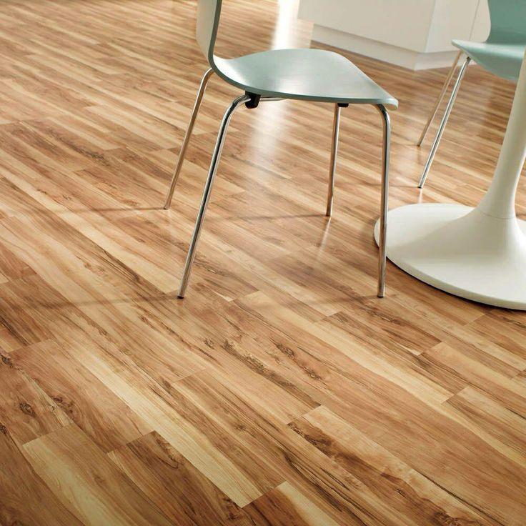 Fake Wood Flooring Laminate, Hampton Bay Brilliant Maple Laminate Flooring