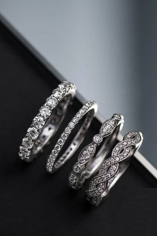 Wedding Bands For Women 30 Stunning And Trendy Ideas Womens Wedding Bands Wedding Ring Designs Diamond Wedding Bands