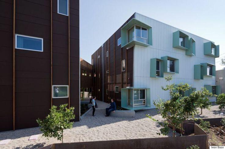 建築家が選んだ、最高峰の住宅デザイン10選 集合住宅 ノース・パーカーカリフォルニア州サンディエゴ