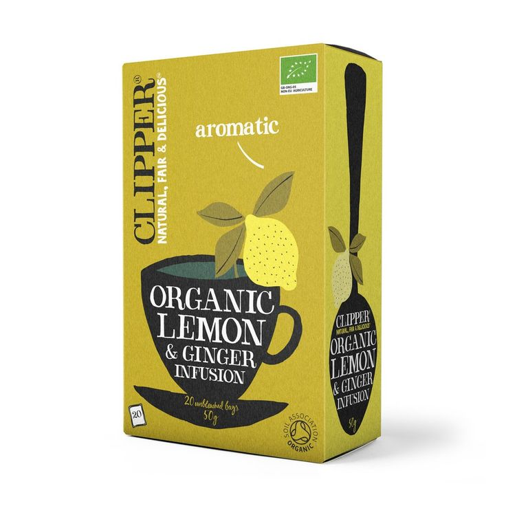 Organic Lemon & Ginger Tea 20 bags