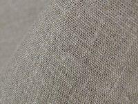 Умягченная льняная ткань серого цвета