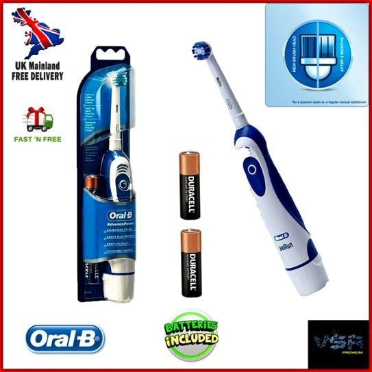 Braun Oral B Advance Power Electric Toothbrush Floss Action Teeth Dental Care HQ