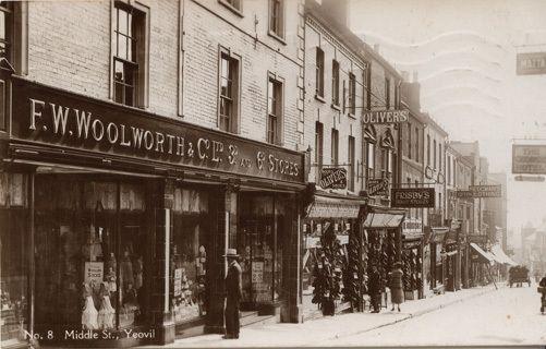 Yeovil Woolworths 1920s