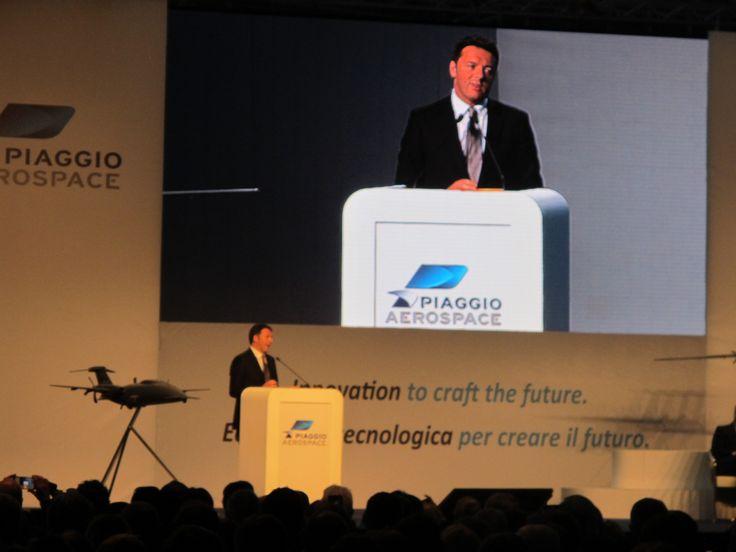 L'intervento del premier all'inaugurazione di Piaggio #Aerospace a Villanova d'Albenga (SV)