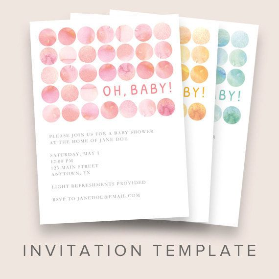 14 best Birth Announcements images on Pinterest Births - how to make a baby shower invitation on microsoft word
