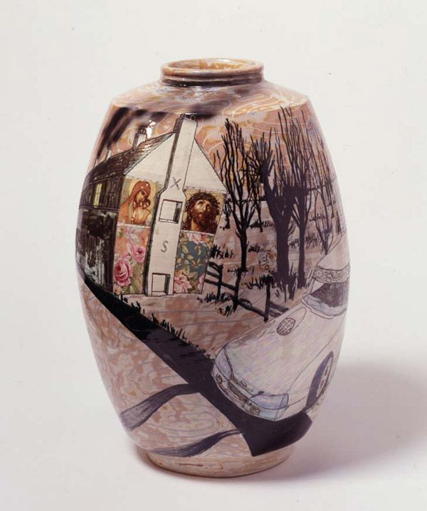 Grayson Perry Troubled 2000 Earthenware 42 x 25 x 25 cm