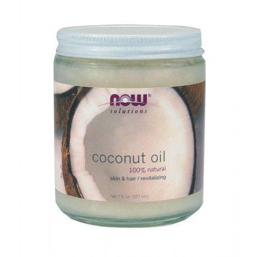 NOW Coconut Oil 207ml | Familypharmacy.gr