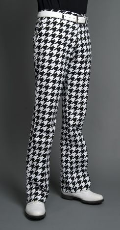 Loudmouth houndstooth pants :)
