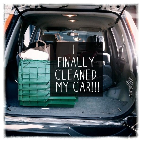 Image result for clean out the car