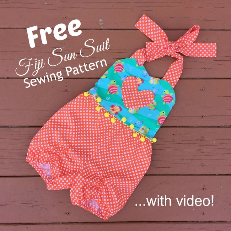 Make This Free Fiji Sun Suit Sewing Pattern
