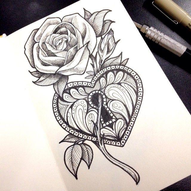 ... Heart Lock Tattoo on Pinterest   Lock Tattoo Locket Tattoos and Key