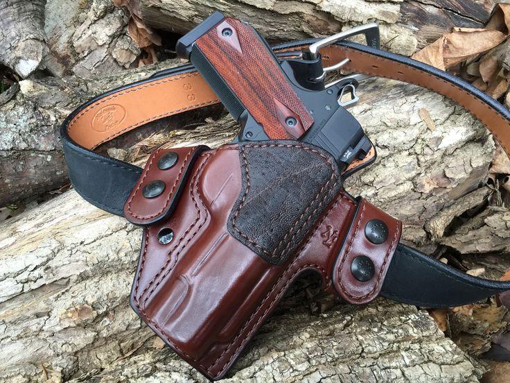 Nightingale Leather Dan Wesson Vbob 1911 Griffon V Owb