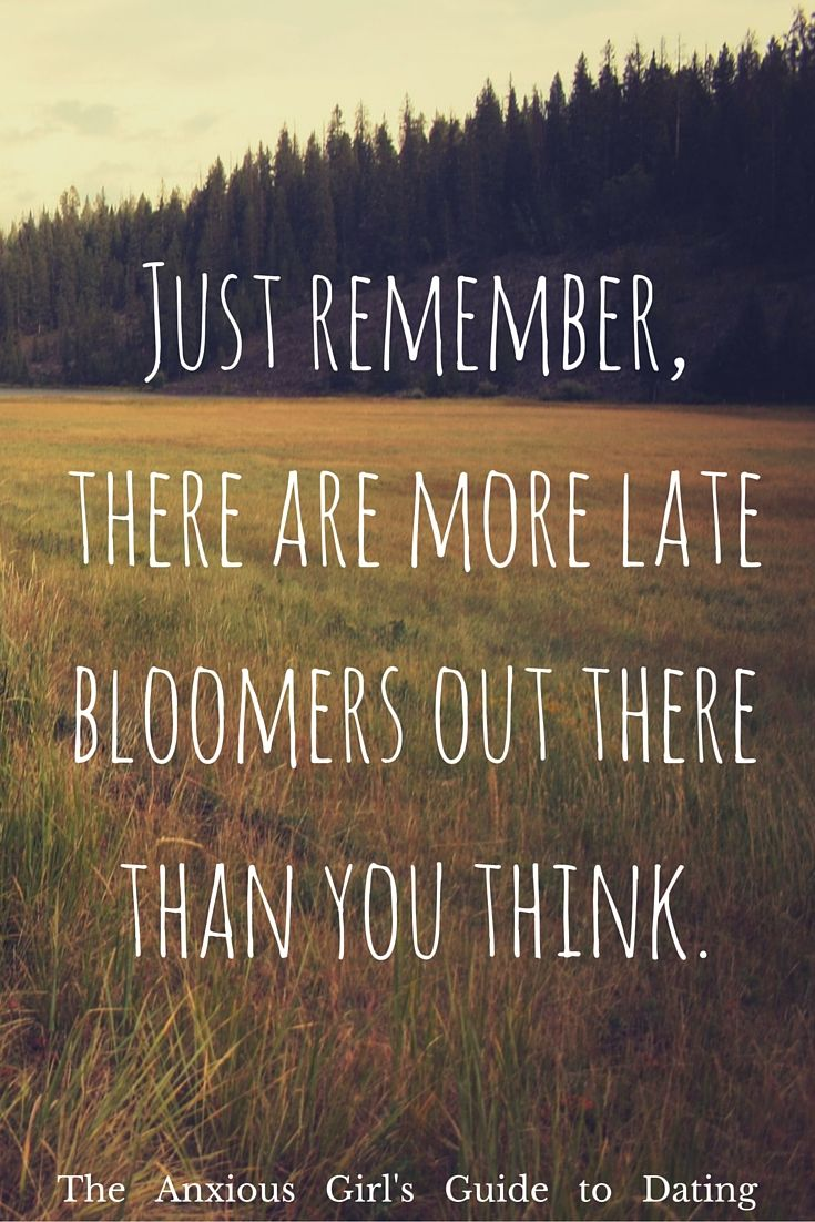 There are more late bloomers out there than you think.