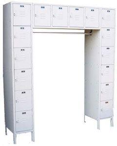 Employee Lockers ~ 16 Person Locker for Staff