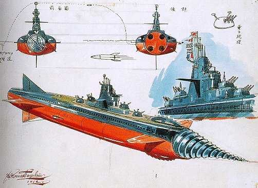 Leif Ericson: Submarines in Space