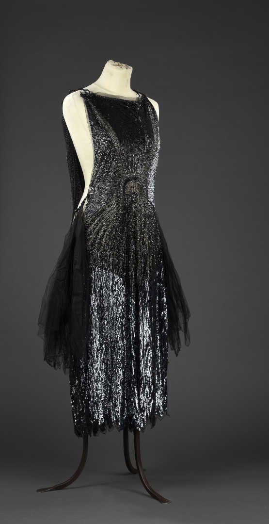 Robe du soir, anonyme, haute couture, vers 1925 | Daguerre