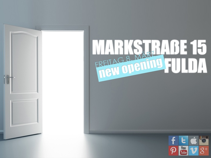 ★★★ NEW OPENING ★★★  FULDA, Marktstraße 15 | Am Freitag 08. März 2013 | Mo-Sa 9:30-20:00    LOVE INCOGNITO ❤