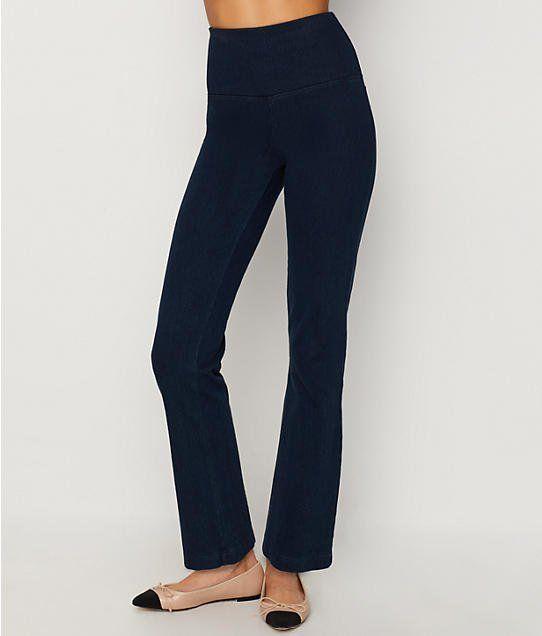 1679a9c78e8 Lyssé  Medium Control Straight Leg Denim Pants 6176