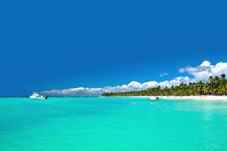 Isla Saona - ett paradis i den Dominikanska republiken.