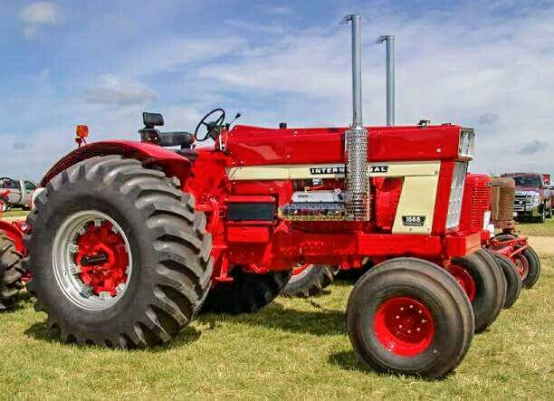 Antique International 1568 : Best images about just cool tractors on pinterest