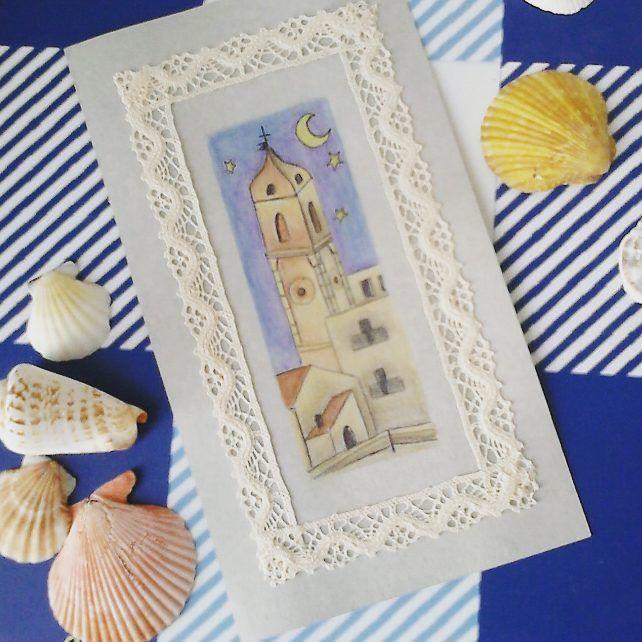 @malicescraftland on #instagram #Cartoline sotto l'#ombrellone. #vieste #gargano #puglia #italia #cattedrale #campanile #naif #shabby #shabbychic #weareinpuglia #volgopuglia #igpuglia #acquerelli #postcard #postcards #postal #cartolina #postales #estate #summer #verano #2017 ----> Follow me: https://malicecraft.wordpress.com/   ----> instagam: www.instagram.com/malicescraftland/   ----> fb: www.facebook.com/MaliceCrafts