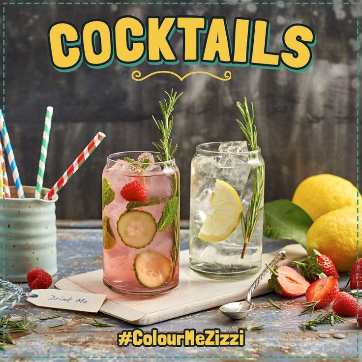 Pink G&T & Garden G&T #ColourMeZizzi