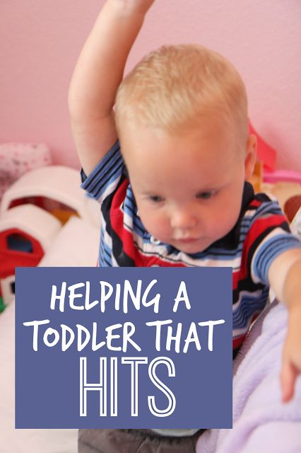 Helping a Toddler That Hits | Toddler Approved! | Bloglovin'
