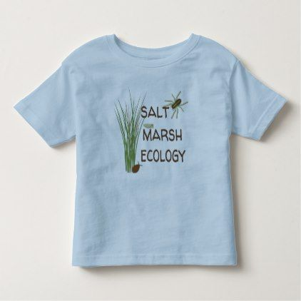 Salt Marsh Ecology - Toddler T-Shirt - toddler youngster infant child kid gift idea design diy
