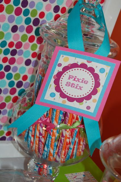 Candy Land Birthday Party Ideas | Photo 5 of 54 | Catch My Party
