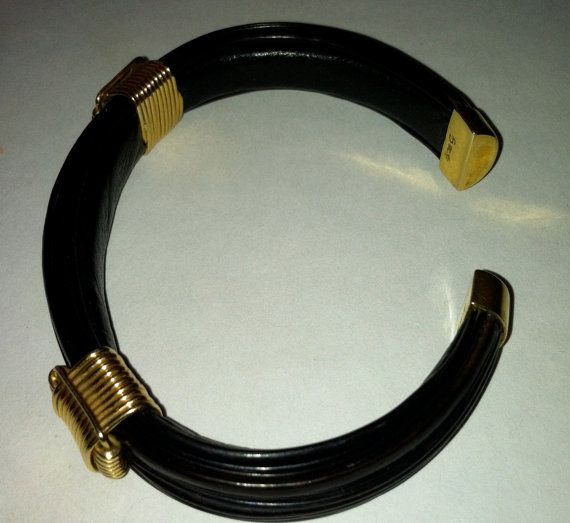 African Elephant hair with 9ct gold Bracelet by MAISONDELAPOUBELLE, $210.00