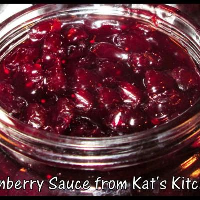 How to can cranberry sauce. I'll do this with my own favorite recipe to delight in the stuff year round!