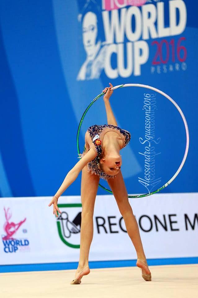 Alina Ermolova (Russia), World Cup (Pesaro) 2016