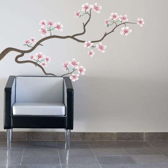 japanese cherry Asian wall decal