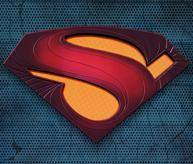 Superman Logo by Aj's eyes (Ajay Naran), via Flickr