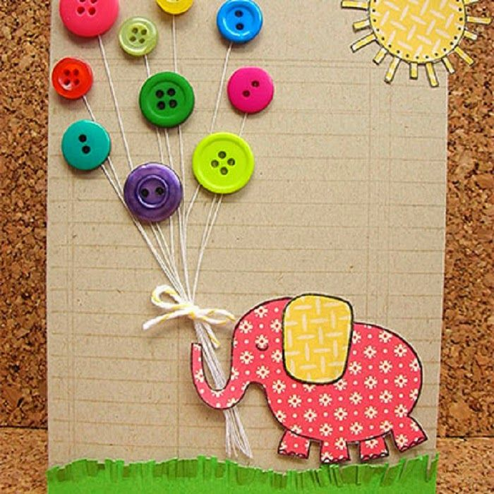 Смешные добрых, самодельные открытки с детьми и для детей