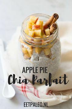 Apple Pie Chia Parfait – Exclusief recept uit Paleo Ontbijt!