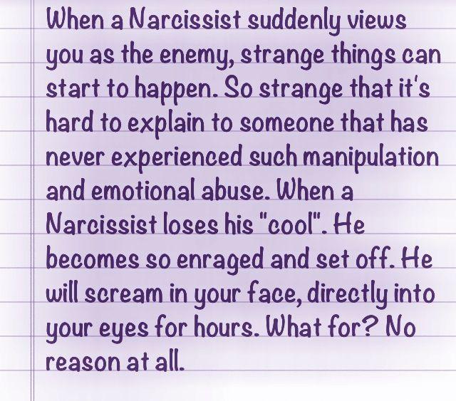 The Enraged Narcissist