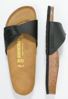 Das ist Tragekomfort erster Güte. Birkenstock Madrid - Pantolette flach - black für 39,95 € (16.02.16) versandkostenfrei bei Zalando bestellen.