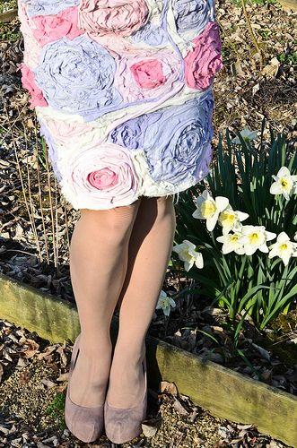 T-shirt Flower Dress