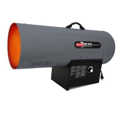 Dyna-Glo Delux 300K BTU Forced Air Propane Portable Heater ...
