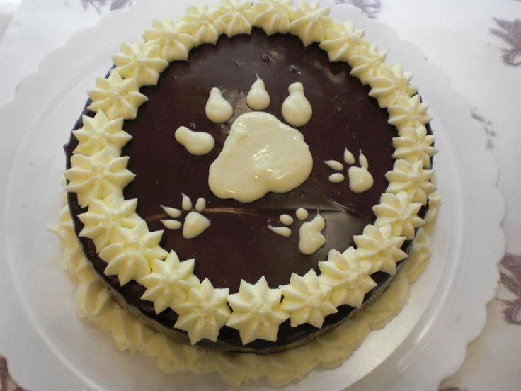 la tarta, para los amantes de los perros, jeje