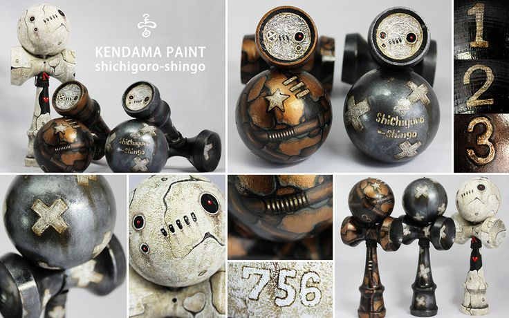 Kendama-756 by shichigoro756 *I am SOOOO in LOVE with his art* ♡♡♡