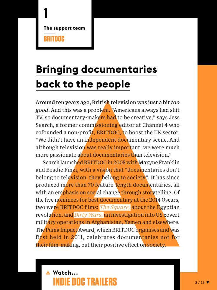 Wired Magazine Layout Design