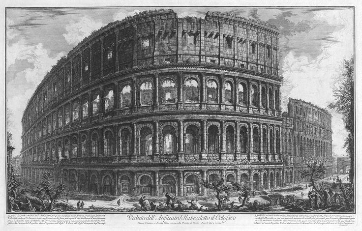 Giovanni Battista Piranesi, The Colosseum(1720 - 1778)