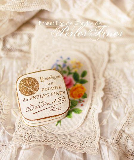 極上の真珠の粉/アンティークパウダーボックスコレクション - O Bel Inventaire-Bis*アンヴァンテール・ビス*