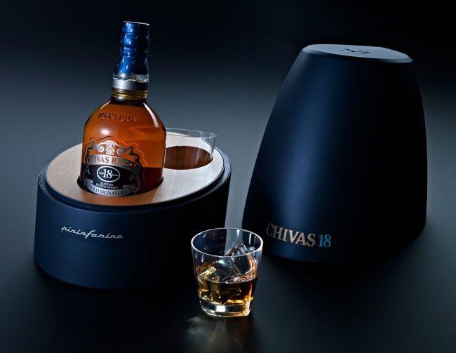 Ediciones limitadas de whisky Chivas 18 por Pininfarina