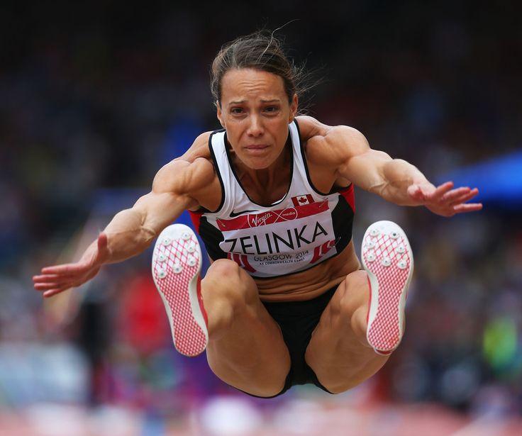 Heptathlon - Jessica Zelinka Pictures 20th Commonwealth Games: Athletics -