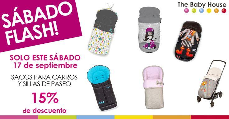 ¿Quieres un saco para silla de paseo para que tu bebé vaya bien abrigadito este otoño-invierno? ¡Mira qué ofertón!